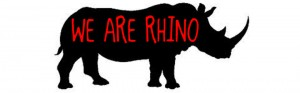WE ARE RHINO LOGO